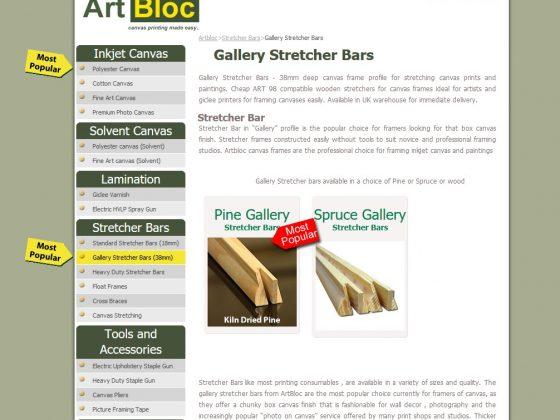 Artbloc SEO Results