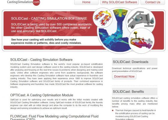 Casting Simulation SEO