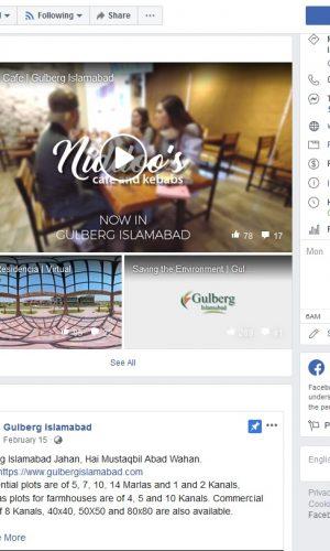 Gulberg Islamabad Facebook Marketing