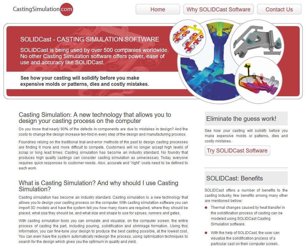 castingsimulation.com SEO