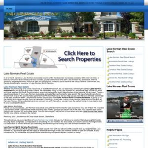 SEO of lakenormanrealestate.org