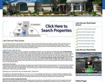 SEO of lakenormanrealestate.org