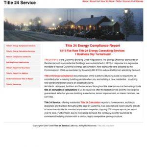 SEO of Title24service.com